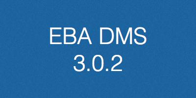 EBA DMS, verzija 3.0.2