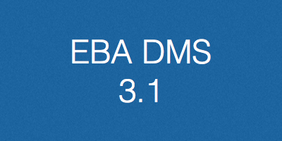 EBA DMS, verzija 3.1