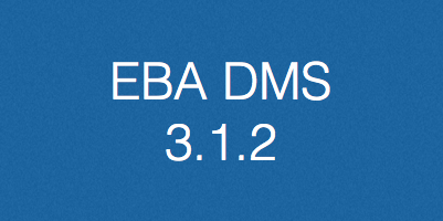 EBA DMS, verzija 3.1.2